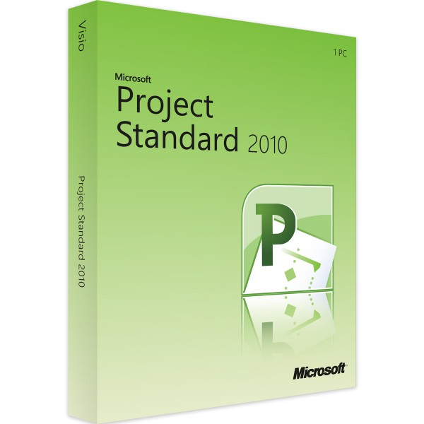 Microsoft Project 2010 Standard | für Windows