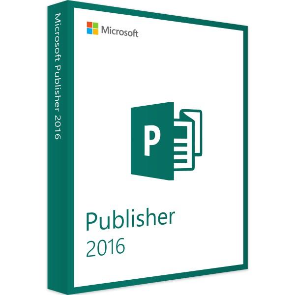 Microsoft Publisher 2016 | für Windows