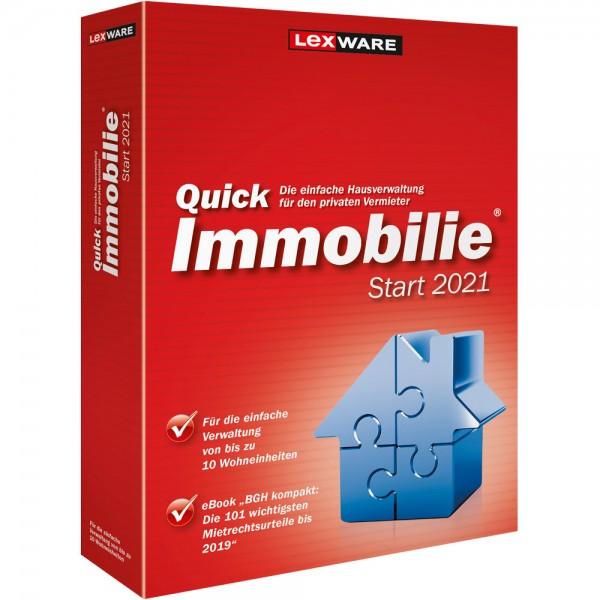 Lexware QuickImmobillie Start 2021 | für Windows