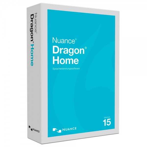 Nuance Dragon Home 15 Vollversion