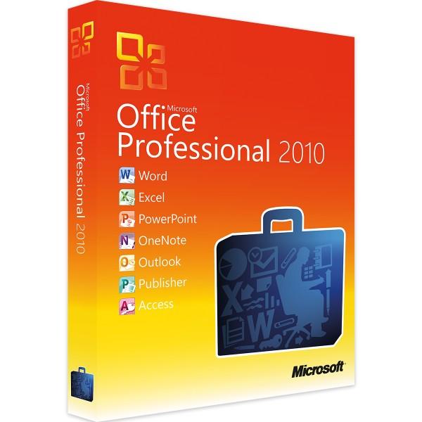 Microsoft Office 2010 Professional   für Windows