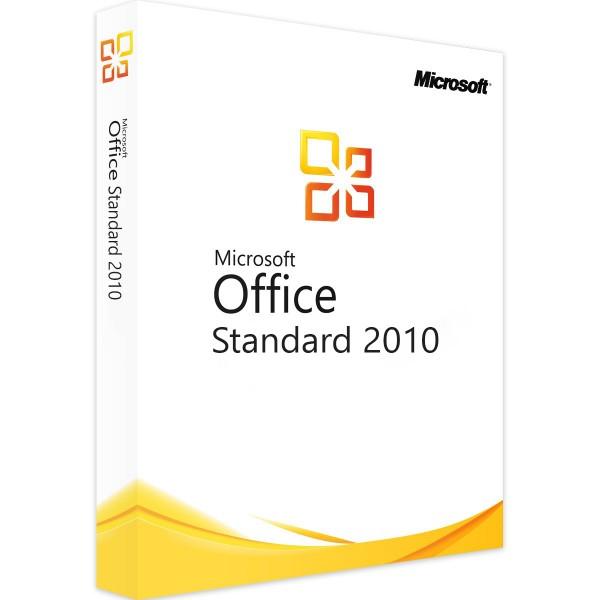 Microsoft Office 2010 Standard   für Windows