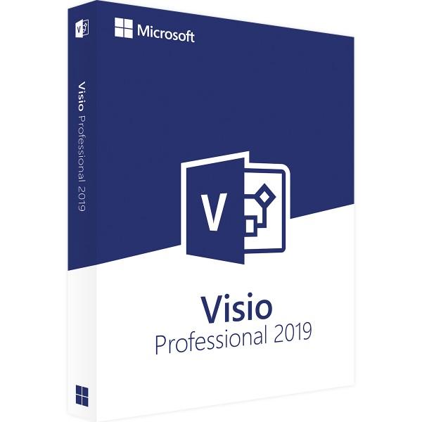 Microsoft Visio 2019 Professional   für Windows