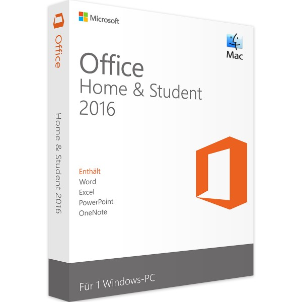 Microsoft Office 2016 Home and Student | für Mac