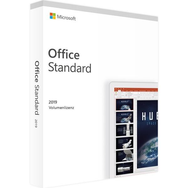 Microsoft Office 2019 Standard | für Windows - Volumenlizenz