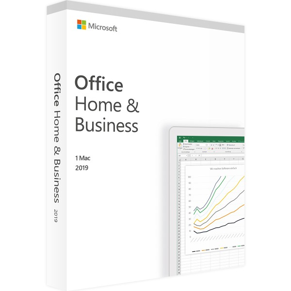 Microsoft Office 2019 Home and Business | für Mac & Win | Accountgebunden