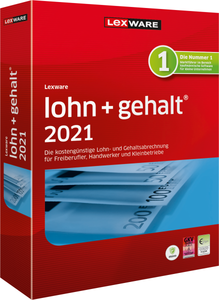Lexware Lohn + Gehalt 2021   365 Tage