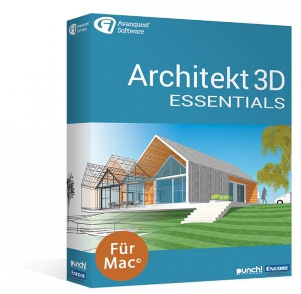 Avanquest Architekt 3D 20 Essentials | für MAC