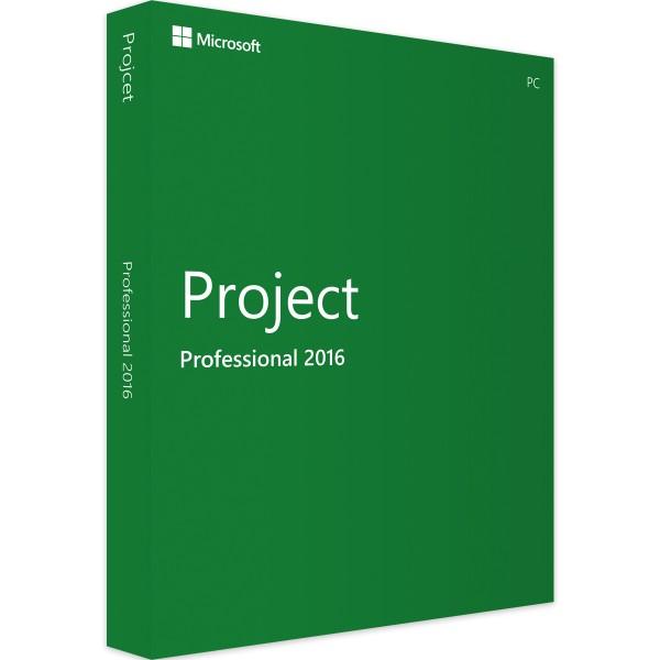Microsoft Project 2016 Professional   für Windows