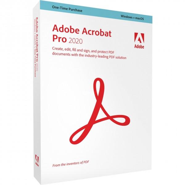 Adobe Acrobat Pro 2020 | für Windows/Mac
