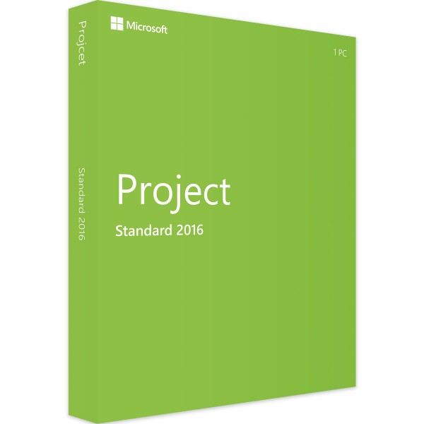 Microsoft Project 2016 Standard | für Windows