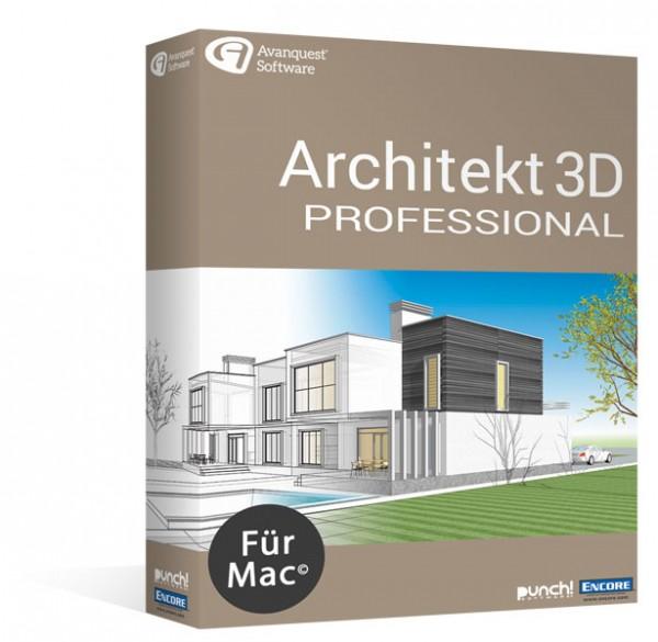 Avanquest Architekt 3D 20 Professional   für MAC