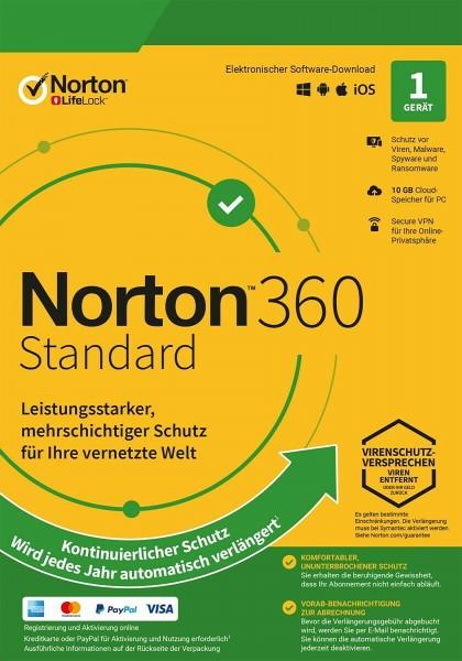 Norton Security 360 | 2021 | Multi Device | kein Abo