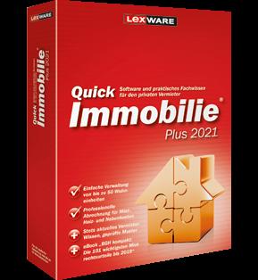 Lexware QuickImmobillie Plus 2021 | für Windows