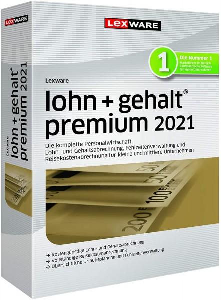 Lexware Lohn + Gehalt Premium 2021 | 365 Tage