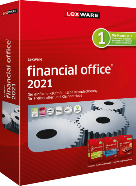 Lexware Financial Office 2021 | 365 Tage