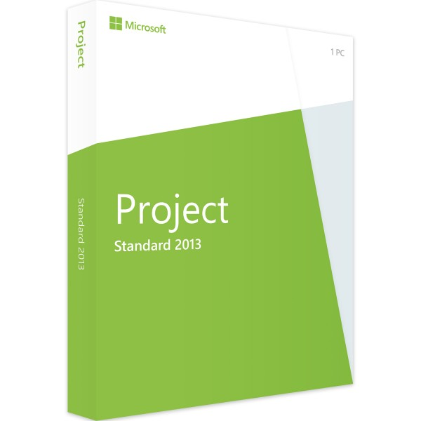 Microsoft Project 2013 Standard | für Windows