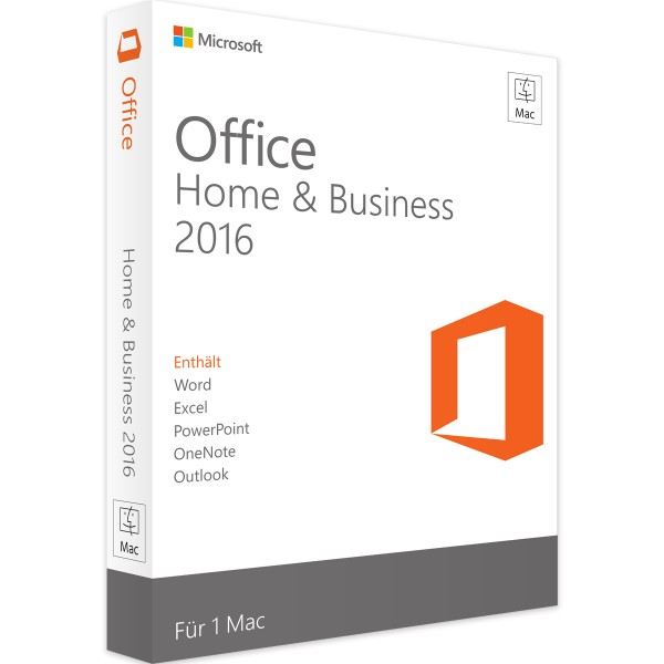 Microsoft Office 2016 Home and Business | für Mac