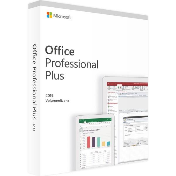 Microsoft Office 2019 Professional Plus   für Windows - Volumenlizenz
